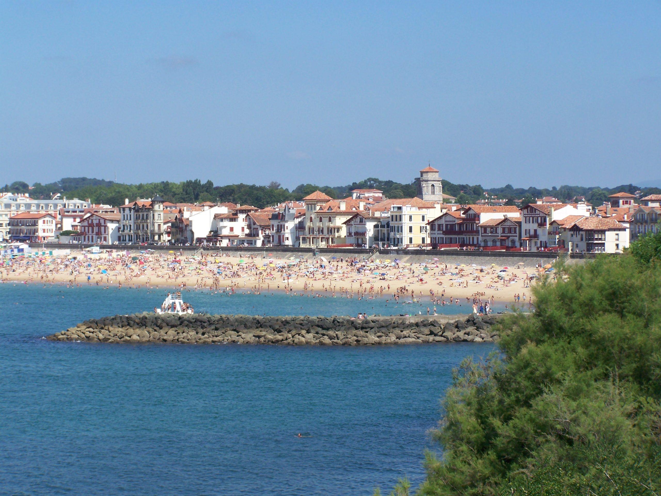 Hotel à Saint Jean de Luz, Le Chantaco, Pays basque, côte basque, La plage