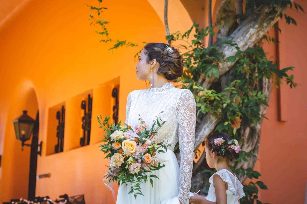 Mariage dans les jardins de l'Hotel à Saint Jean de Luz, Le Chantaco, Pays basque, côte basque