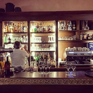 Espace bar de l'Hotel à Saint Jean de Luz, Le Chantaco, Pays basque, côte basque