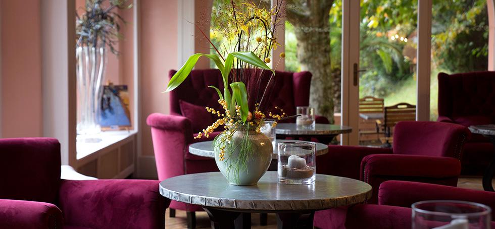 Espace lounge et détente de l'Hotel à Saint Jean de Luz, Le Chantaco, Pays basque, côte basque